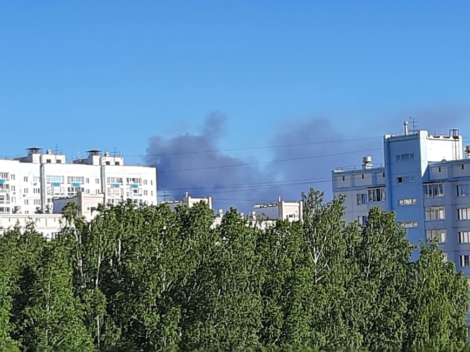 фото В МЧС рассказали подробности крупного пожара на АЗС в Новосибирске 2