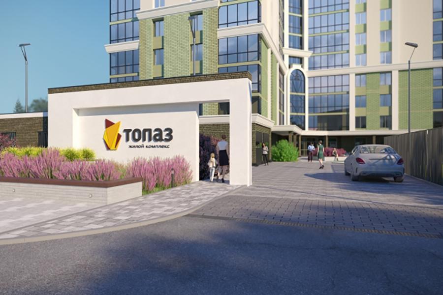 Фото В Новосибирске начались продажи квартир в новом ЖК класса комфорт+ «Топаз» 3