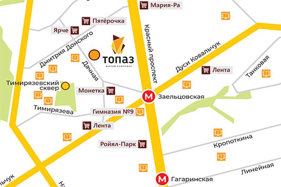 Фото В Новосибирске начались продажи квартир в новом ЖК класса комфорт+ «Топаз» 4