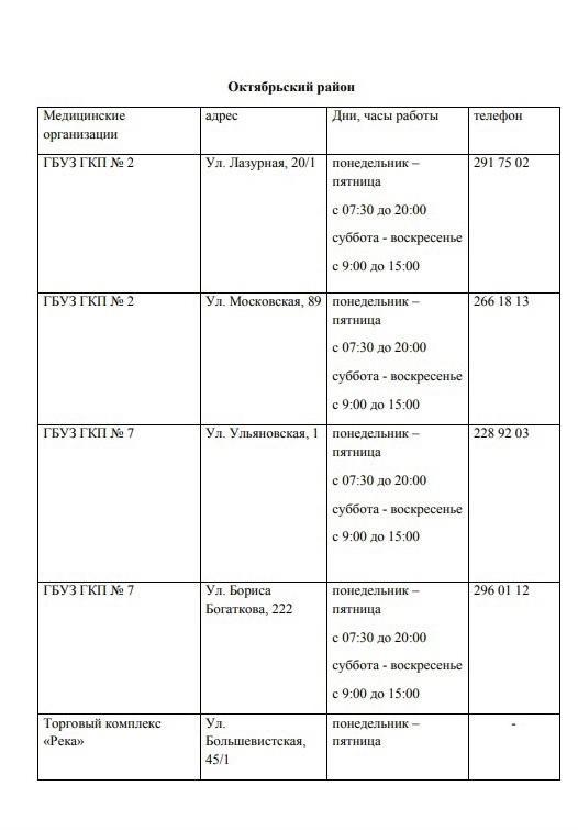 Фото Актуальный список и время работы пунктов вакцинации от COVID-19 на июнь 2021 в Новосибирске 8