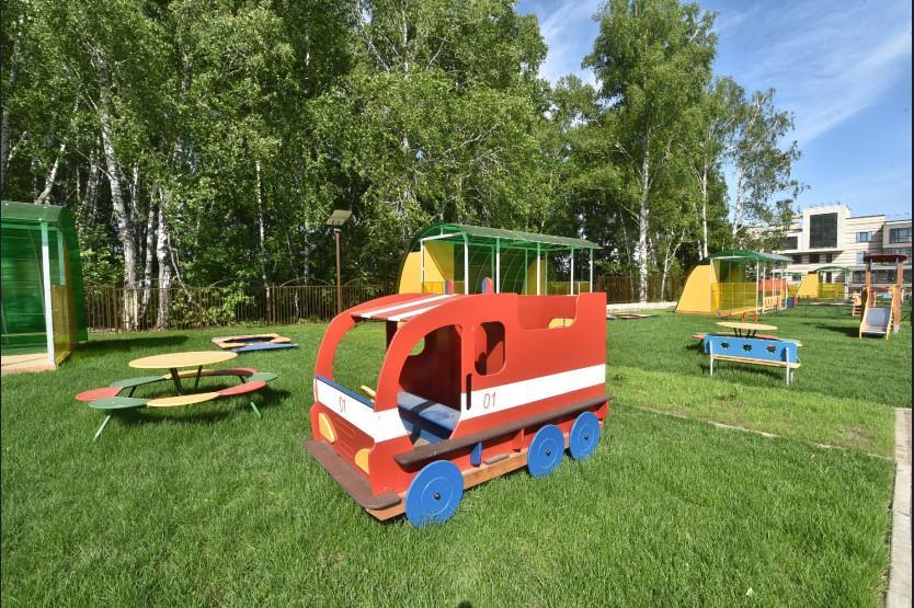 Фото Новый детский сад с уникальной образовательной программой открылся под Новосибирском 2
