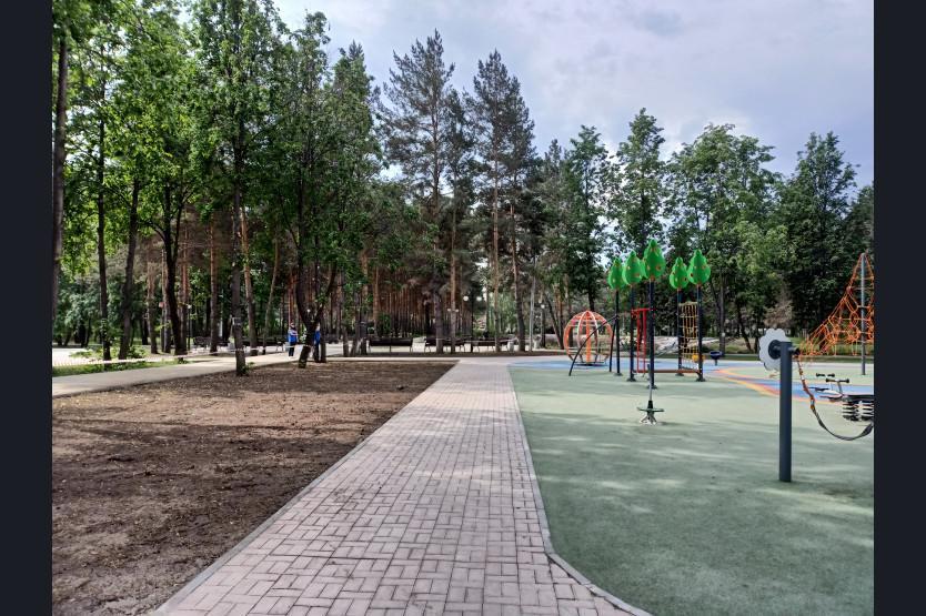 фото Парк в Искитиме станет одним из крупнейших благоустроенных пространств Новосибирской области 3