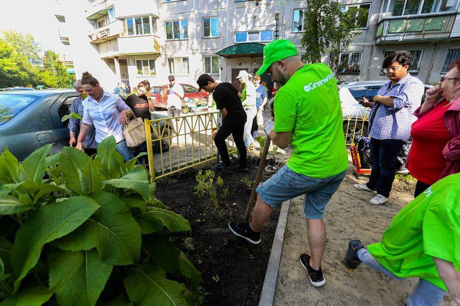 Фото Экологическая акция «Зелёный двор» пришла в Новосибирск 7