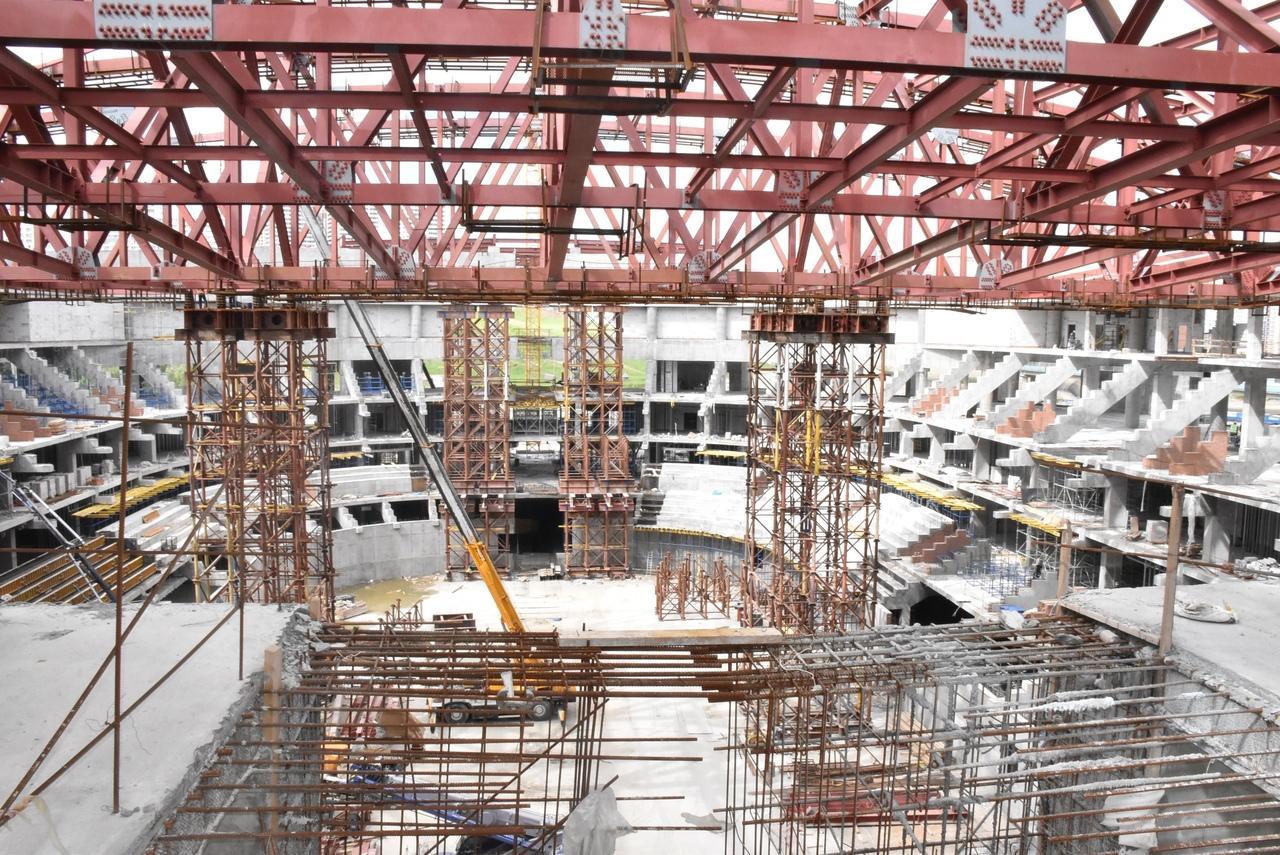 фото Вице-президент телесети TSN Пол Грэм оценил строительство ледовой арены к МЧМ-2023 в Новосибирске 2