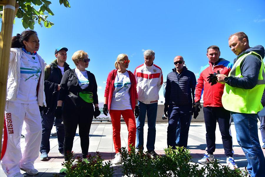 фото Возвращение «Зелёного Марафона»: экологическая акция от Сбера снова собрала горожан на набережной 2