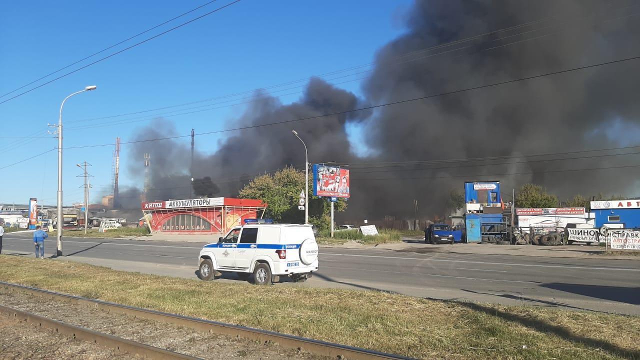 фото Пожар на АЗС в Новосибирске: текстовый онлайн на Сибфм 2