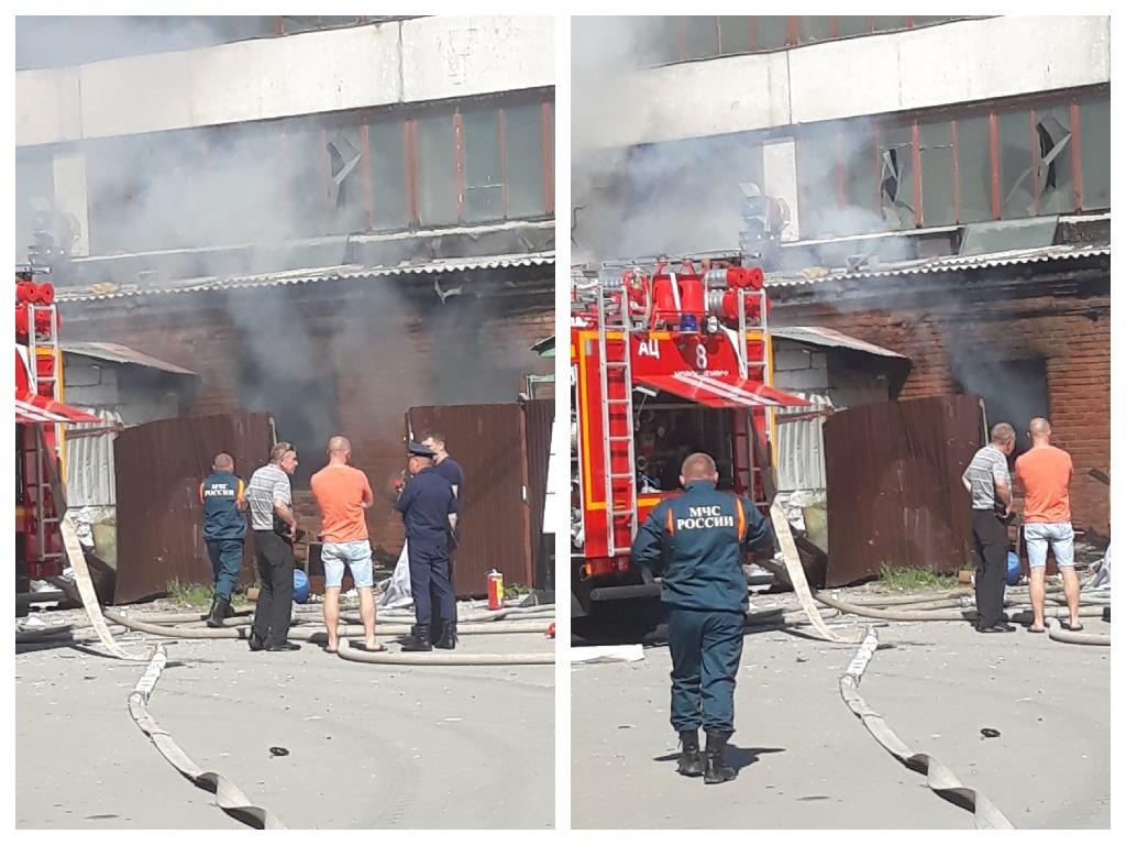 Фото Появились фото с места смертельного ЧП с газовыми баллонами в цехе Новосибирска 3