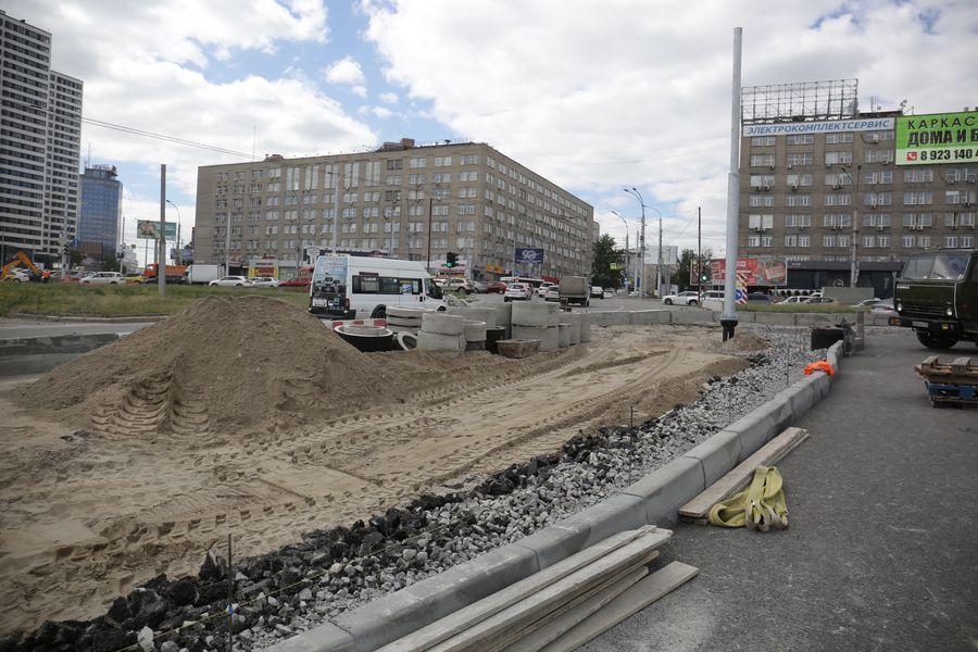 фото Транспортная развязка на площади Лыщинского будет открыта в текущем году 5