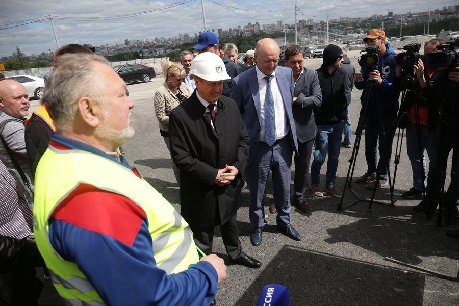 фото Транспортная развязка на площади Лыщинского будет открыта в текущем году 2