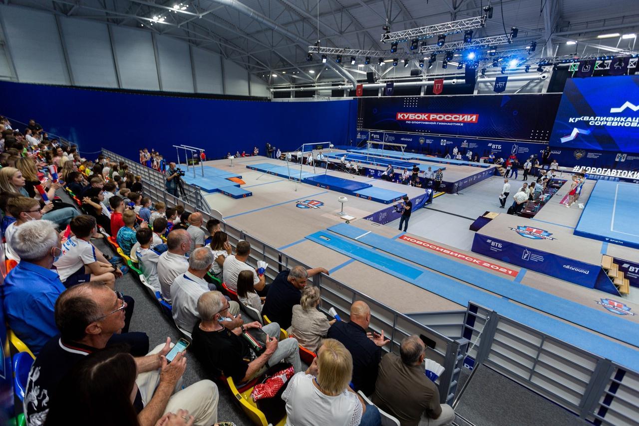 фото Кубок России по спортивной гимнастике проходит в Новосибирске 6