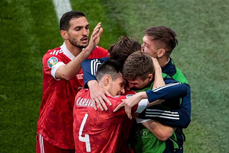 фото Футбол Россия – Финляндия на чемпионате Европы – 2021: голы и лучшие моменты 2