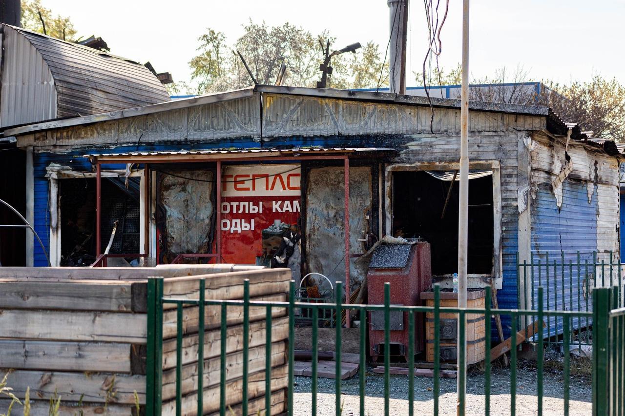 фото От бизнеса остался пепел: предприниматели рассказали о многомиллионных убытках после взрыва на АГЗС в Новосибирске 6