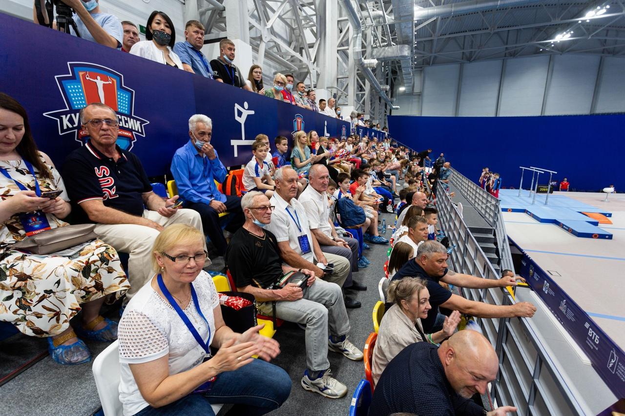 фото Кубок России по спортивной гимнастике проходит в Новосибирске 3