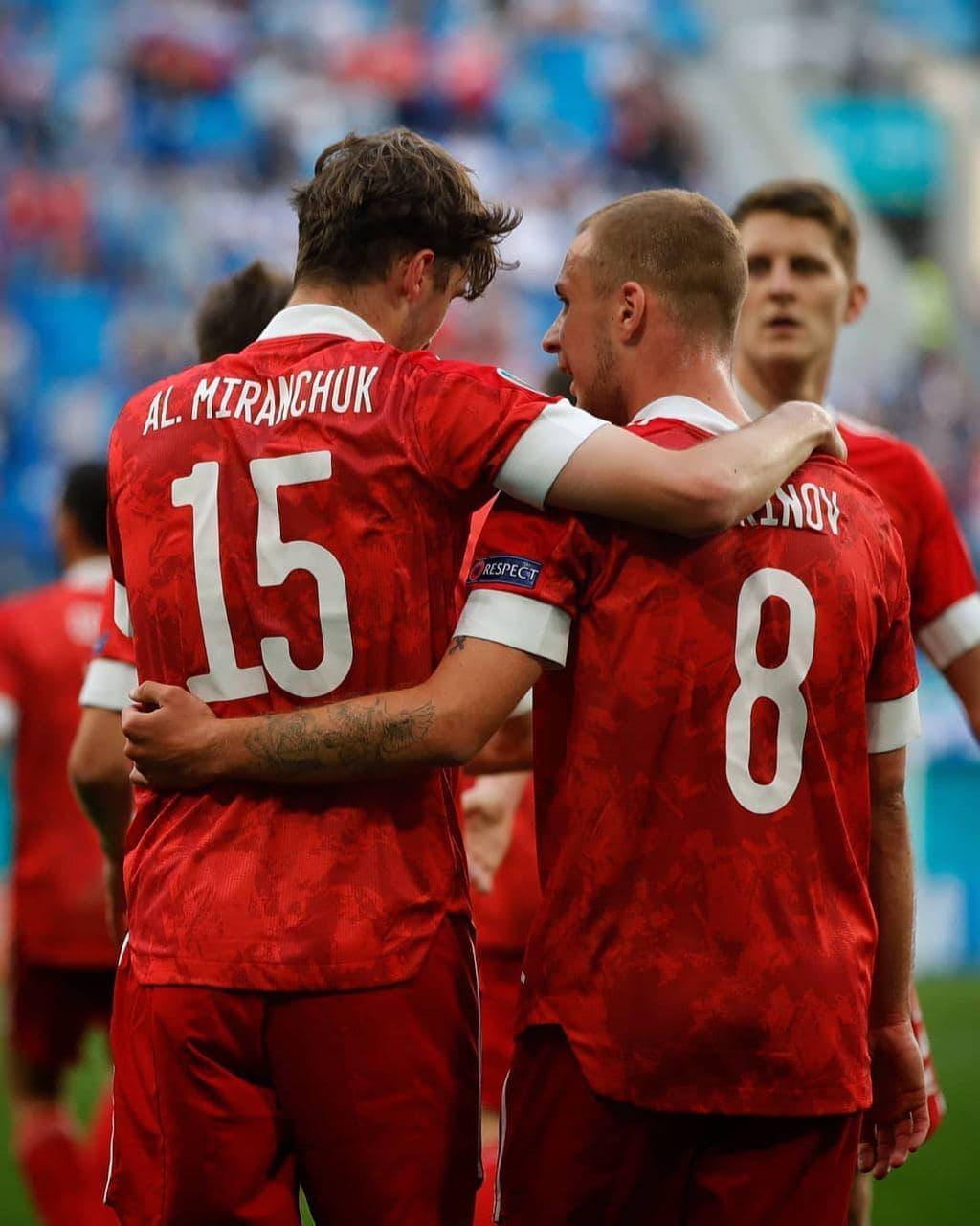 фото Россия обыграла Финляндию на Евро-2020 2