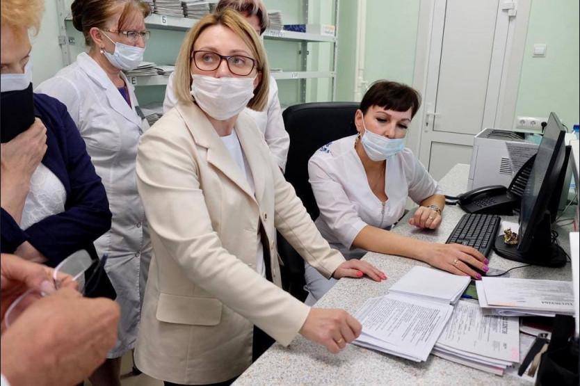 фото В Искитимской городской больнице заработали травматологический центр и центр амбулаторной онкопомощи 2