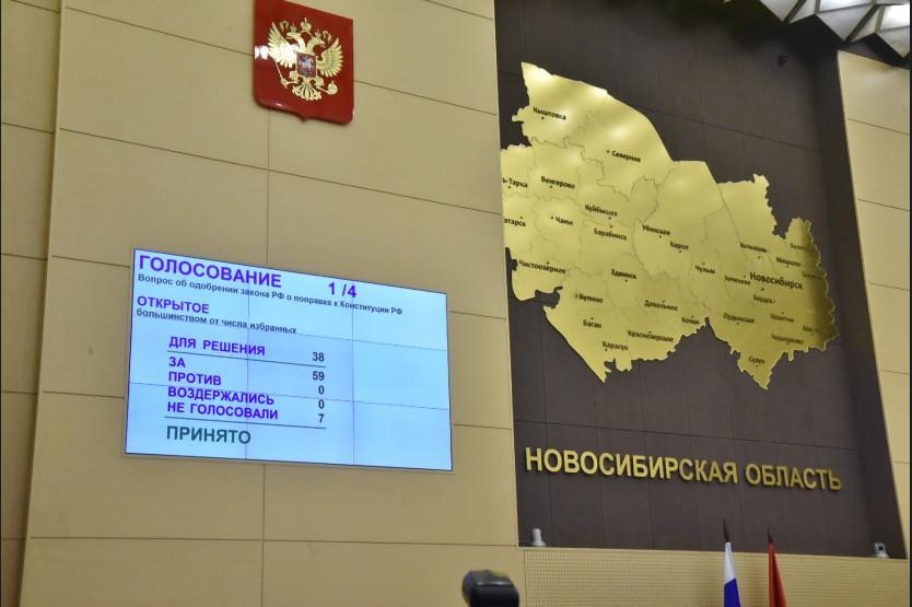 Фото Губернатор Новосибирской области Андрей Травников прокомментировал поправки в Конституцию 3