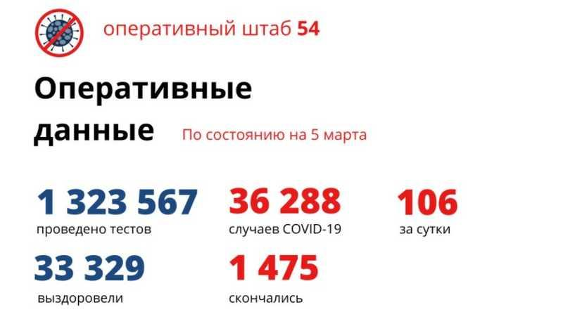 фото Коронавирус в Новосибирске: количество умерших от COVID-19 к 6 марта 2021 года 2