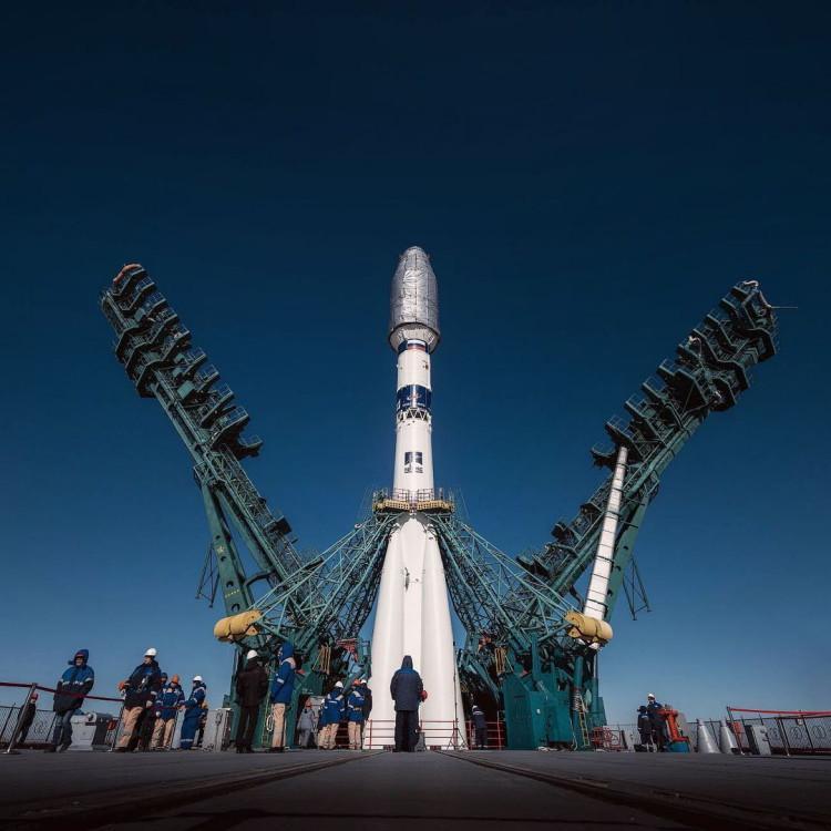 Фото Уникальные кадры ракеты «Союз-2.1а» на Байконуре показал новосибирский фотограф 2