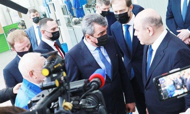 фото Полпред Сергей Меняйло рассказал подробности визита Михаила Мишустина в СФО 2