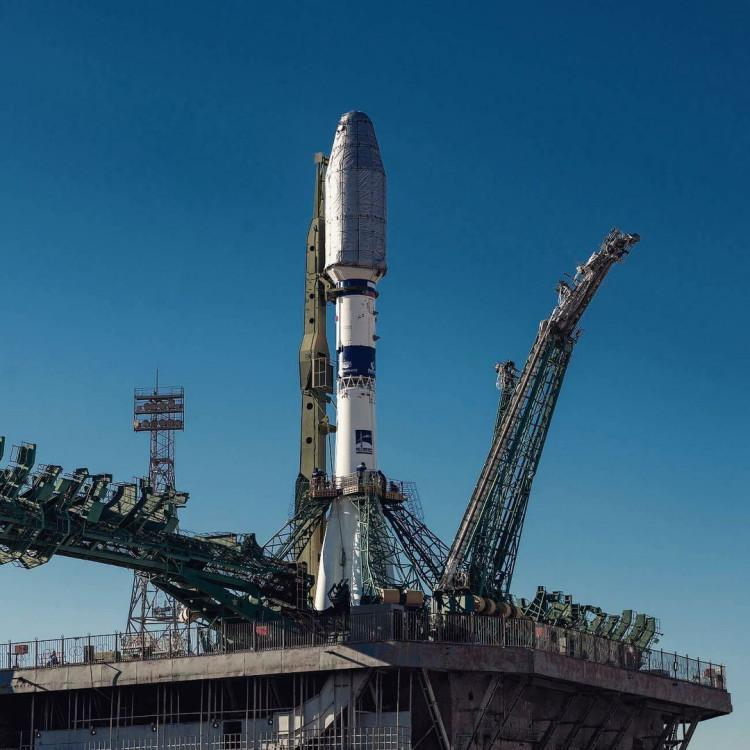Фото Уникальные кадры ракеты «Союз-2.1а» на Байконуре показал новосибирский фотограф 3
