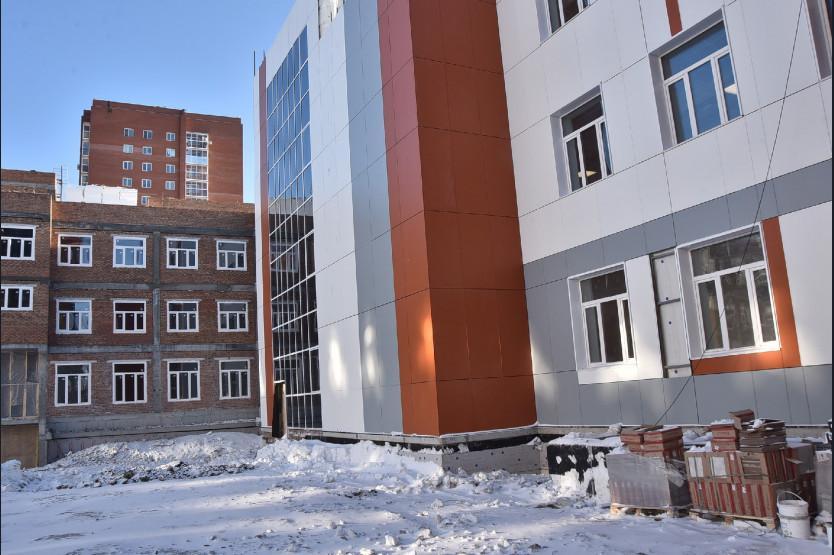 Фото Количество строящихся школ в Новосибирской области вырастет вдвое к 2022 году 2