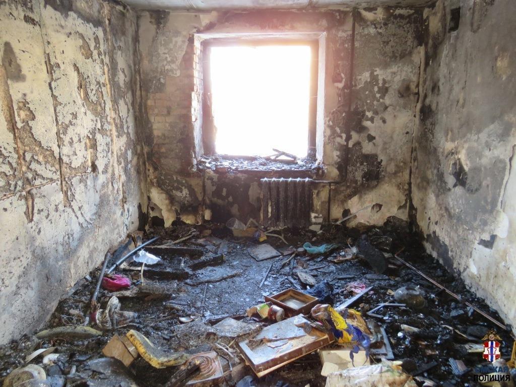 фото Ранее судимый омич поджег свою квартиру и выпрыгнул из окна 2
