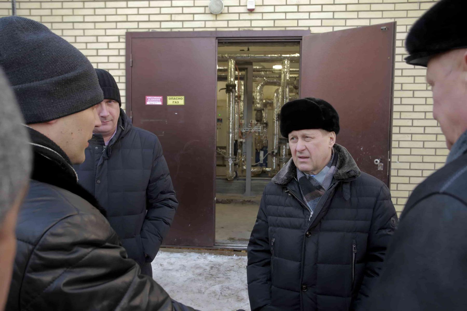 Фото Дома Закаменского микрорайона в Новосибирске подключили к центральному отоплению 2