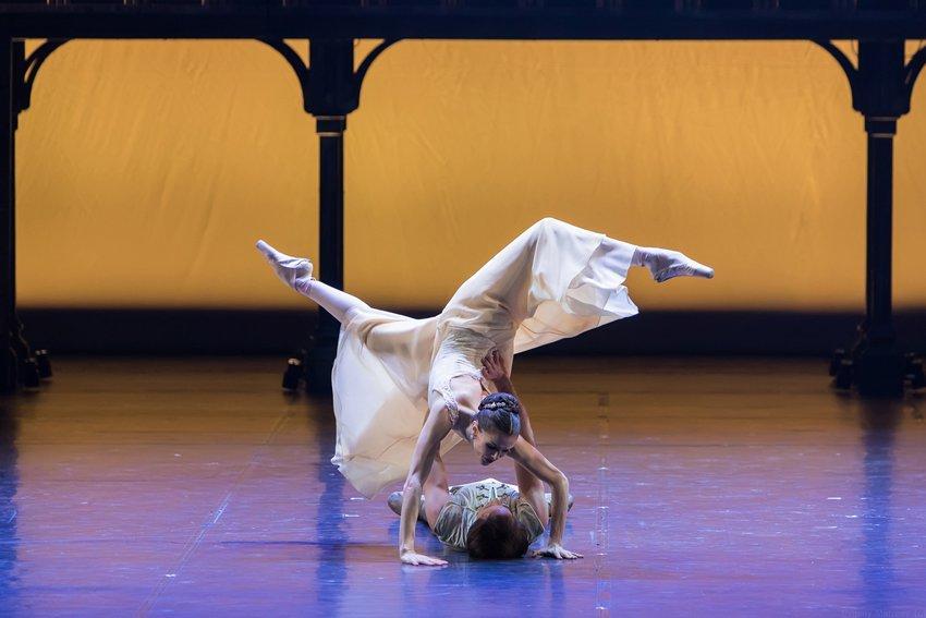 фото Театр балета Бориса Эйфмана выступит на сцене НОВАТа в апреле 3