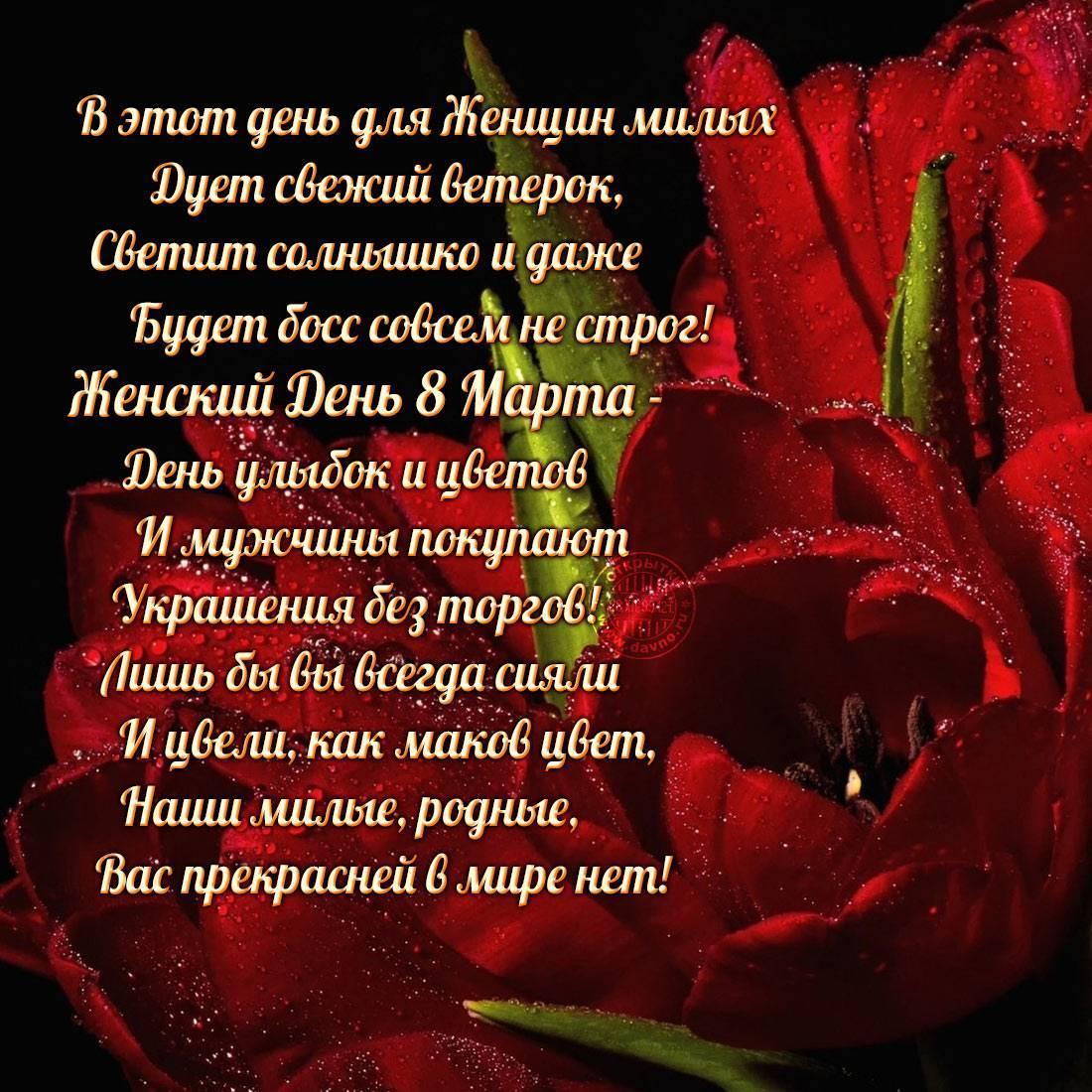 фото Поздравления с 8 Марта: прикольные открытки, стихи и поздравления 9