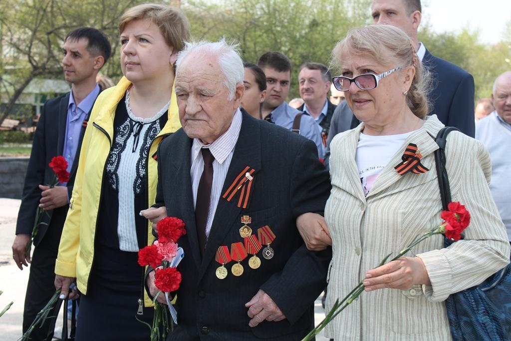фото Ветераны «Горводоканала» вновь в строю Победы 19