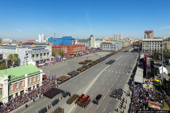 Фото 9 мая в Новосибирске: программа праздничных мероприятий и места проведения салютов 4