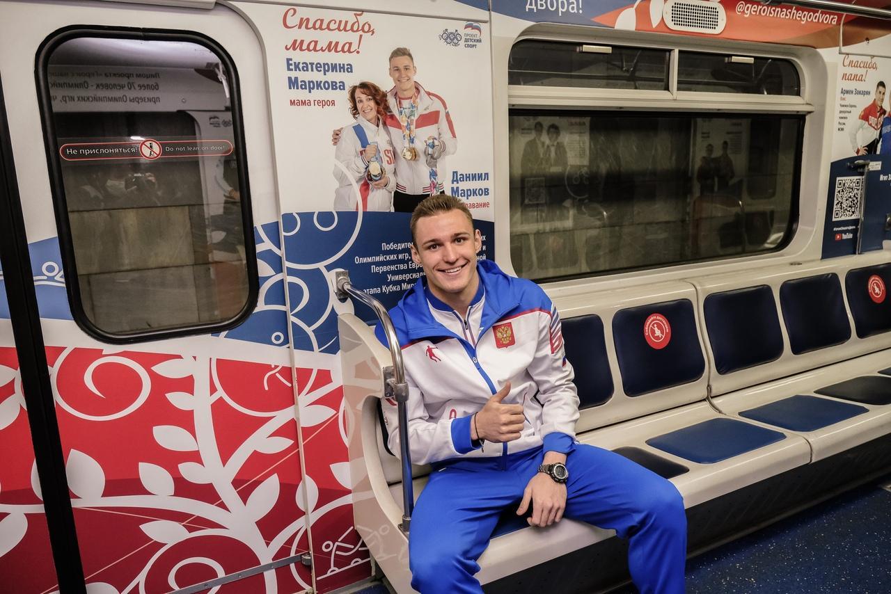 фото Посвящённый ветеранам ВОВ поезд «Герои поколений!» появился в новосибирском метро 5