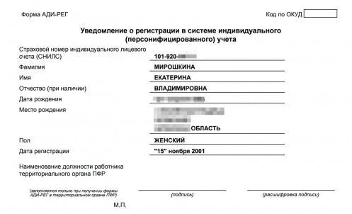 фото СНИЛС на ребенка: как узнать номер через Госуслуги для оформления пособия 10000 рублей 2