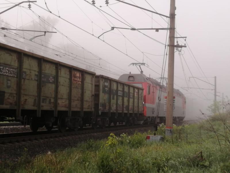 фото Прокатились с ветерком: пьяный житель Новосибирской области угнал автомобиль и столкнулся с поездом 2