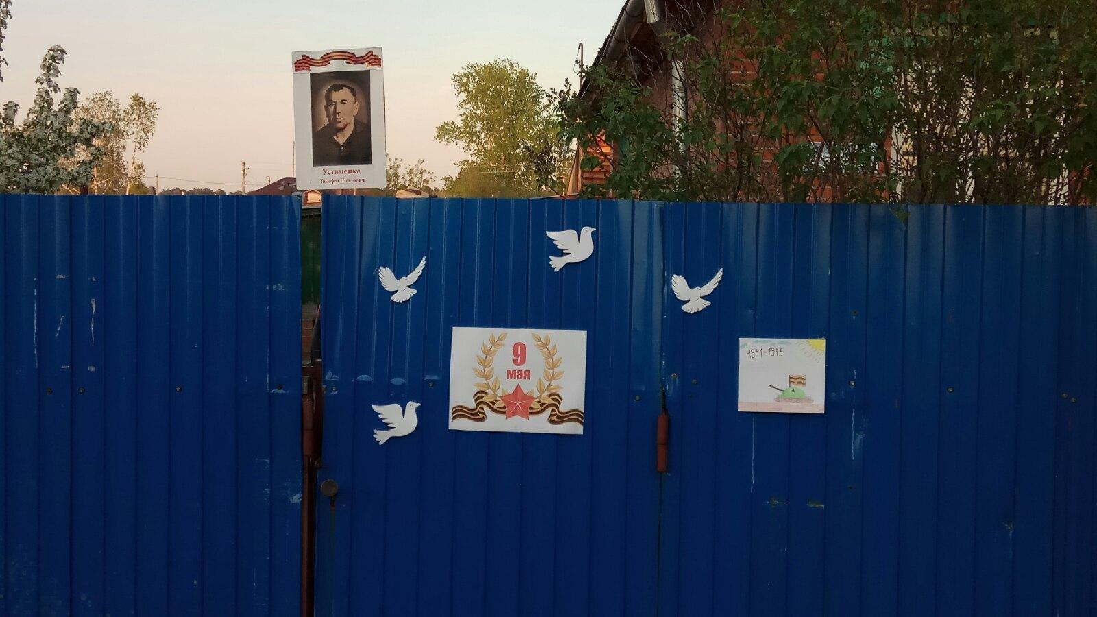 Фото Бессмертный полк офлайн: новосибирцы придумали способ принять участие в традиционной акции на День Победы 9