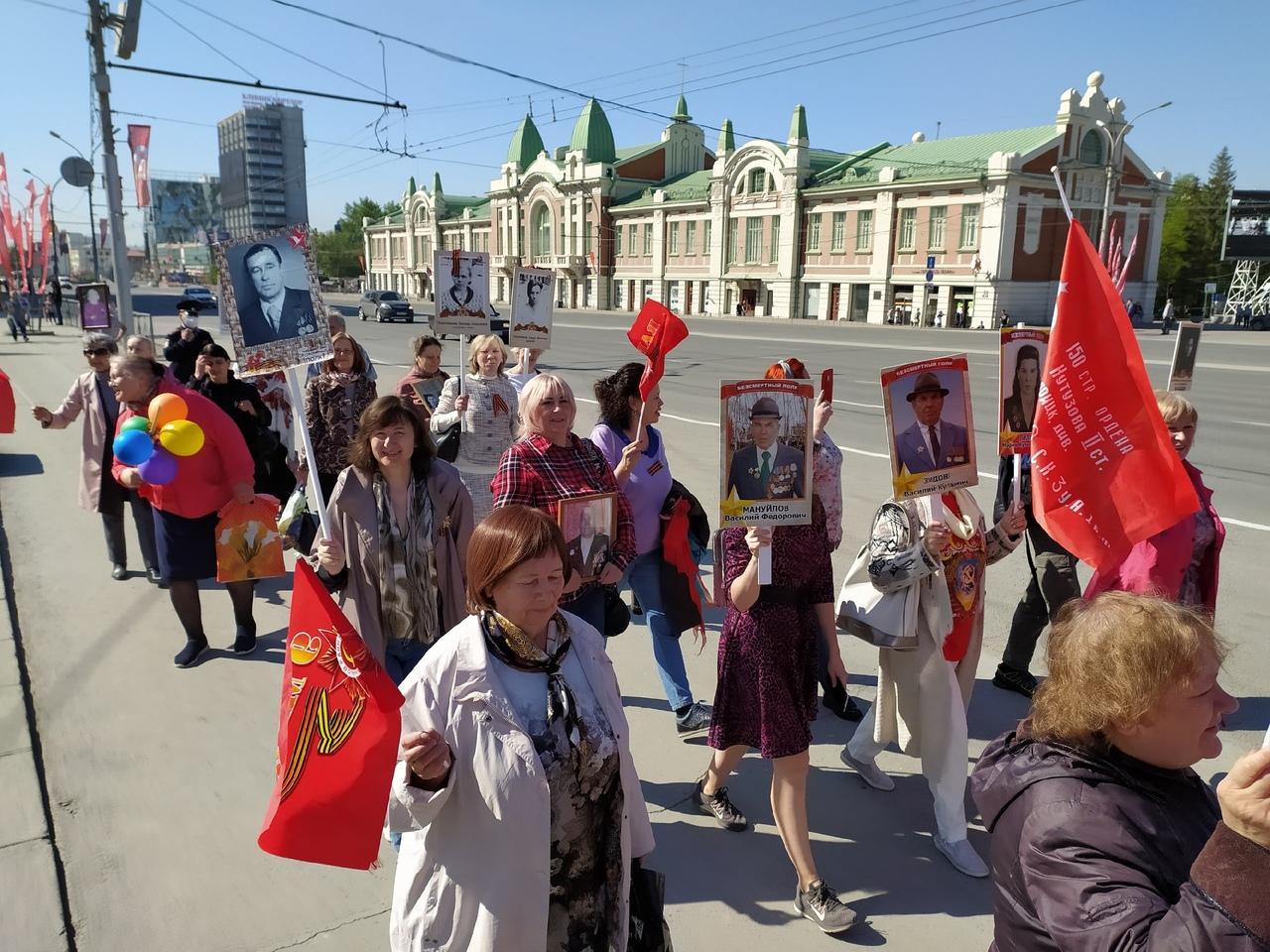 фото Парад в небе, виртуальный Монумент Славы, салют онлайн: как отметили День Победы-2020 в Новосибирске 6