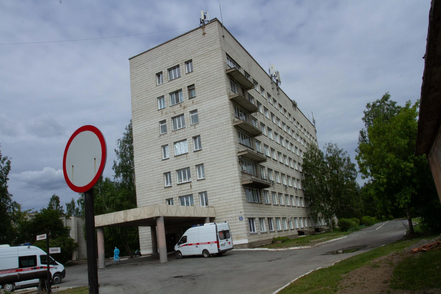 фото «Тяжёлых без очереди»: фоторепортаж из приёмного отделения коронавирусного госпиталя в Новосибирске 2