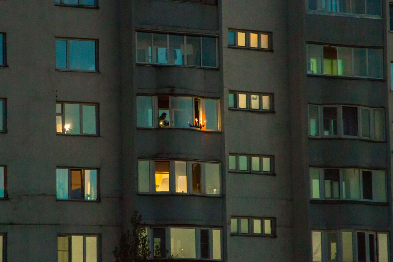 Фото Акция «Свеча памяти» прошла в Новосибирске 2