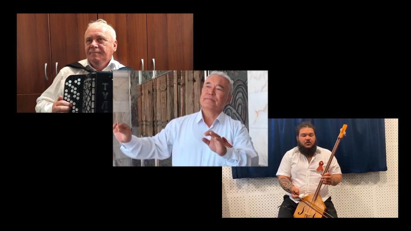 фото В Республике Алтай спели «День Победы» на алтайском языке – видео 2