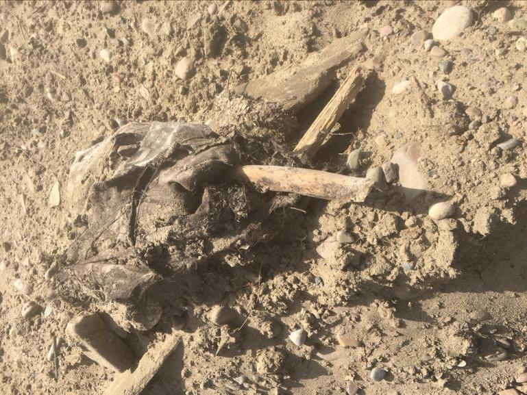 фото «Страшно то, что нельзя ничего исправить»: талая вода в Иркутской области размыла остатки кладбища 6