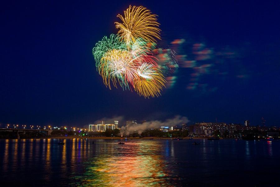 фото Салют 9 мая 2020 года: самые яркие залпы 7