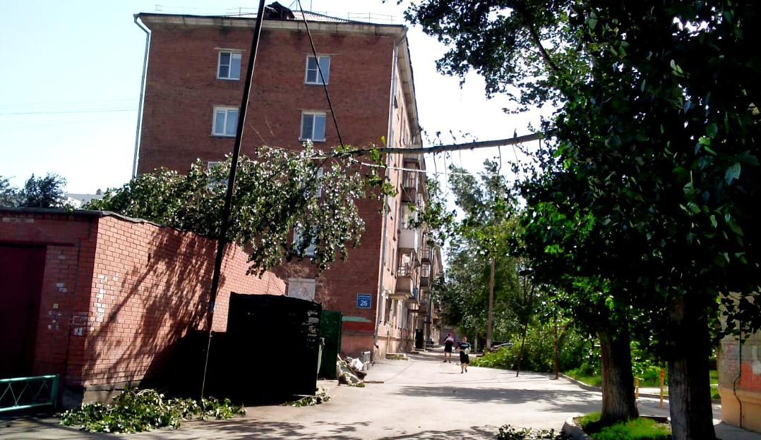 фото Ураган в Новосибирске: 15 000 человек без света, эвакуация подростков с Оби, четверо пострадавших 2
