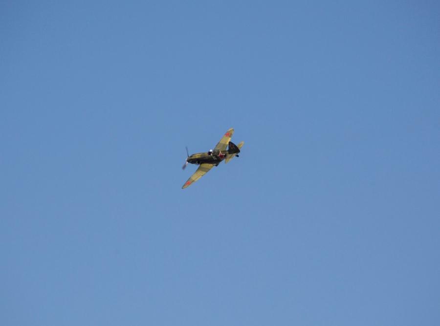 фото В Новосибирске прошёл авиапарад в честь 75-летия Победы 2
