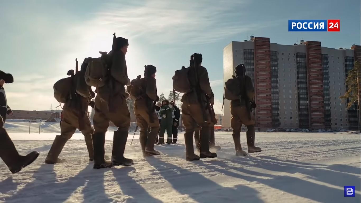 Фото В сеть выложили фильм «Снежные призраки» о подвиге солдат-сибиряков 3