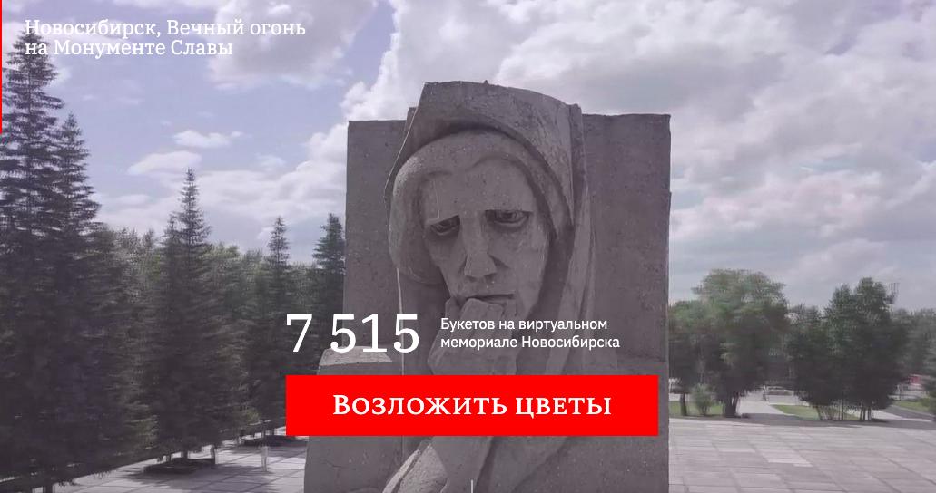 фото Парад в небе, виртуальный Монумент Славы, салют онлайн: как отметили День Победы-2020 в Новосибирске 14