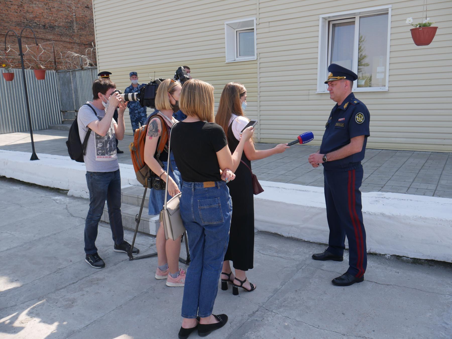 фото Представители новосибирских СМИ ознакомились с условиями отбывания наказания в виде принудительных работ 2