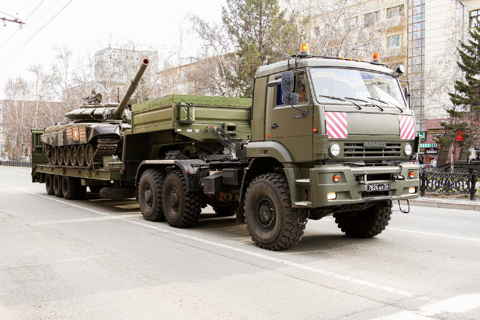 Фото Репетиция военного парада состоялась в Новосибирске 6