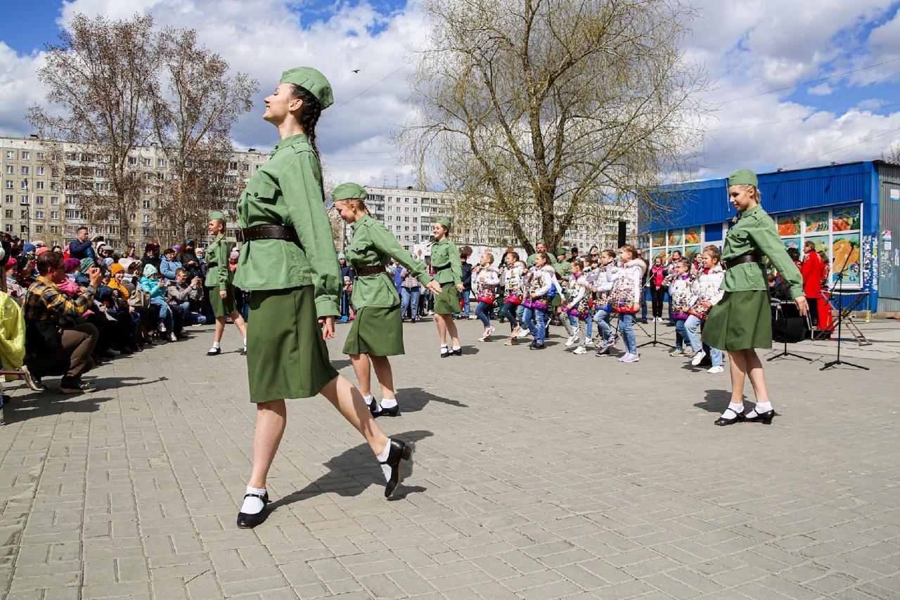 фото Концерт в честь 9 Мая прошёл на бульваре Победы в Новосибирске 4