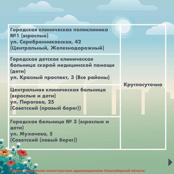 фото График работы поликлиник на майские праздники в 7 картинках в Новосибирске 6