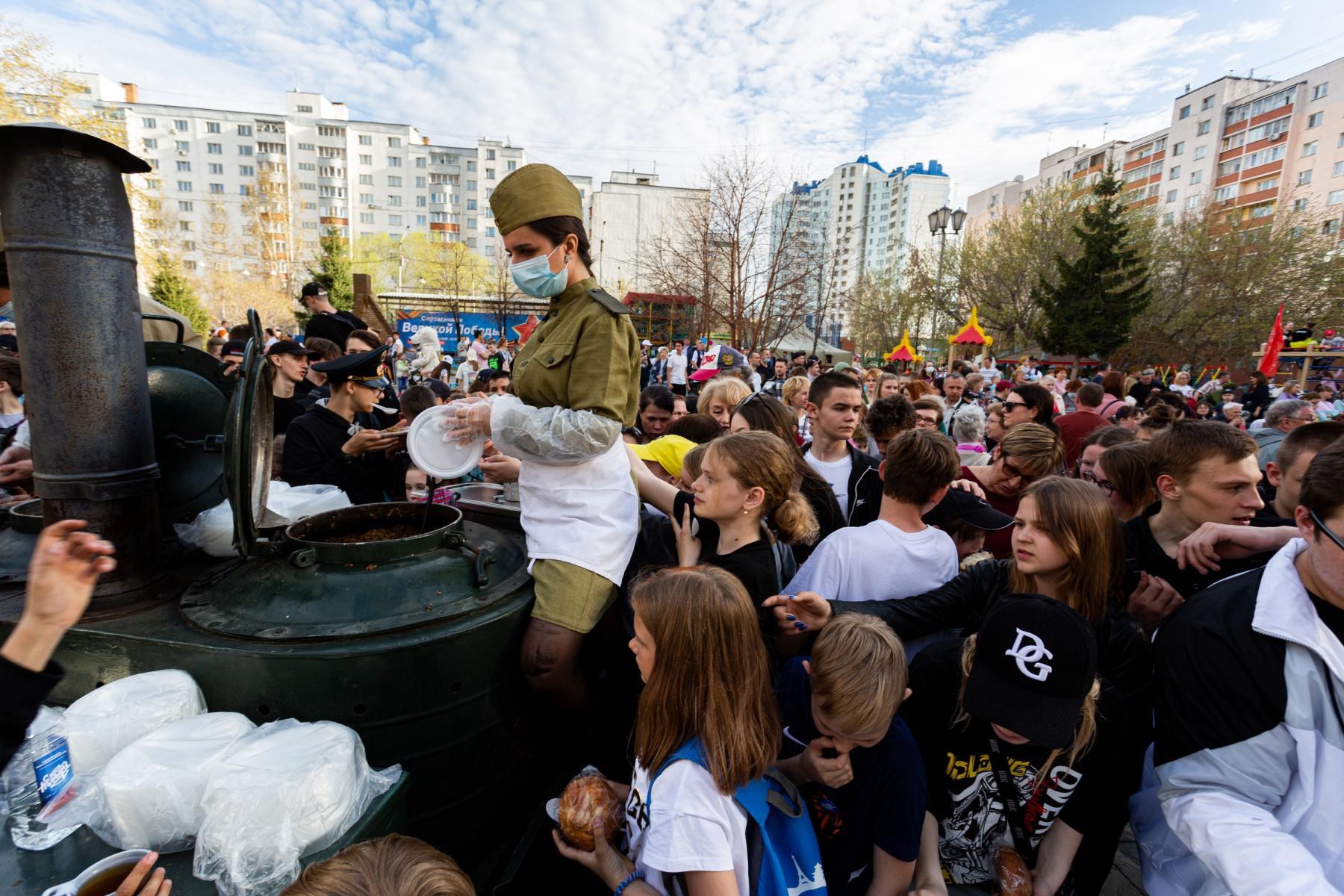 фото В Горском микрорайоне Новосибирска прошёл концерт в честь 9 Мая 5